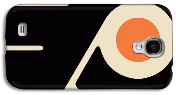 Phillies Paintings Galaxy S4 Cases - Philadelphia Flyers Galaxy S4 Case by Tony Rubino