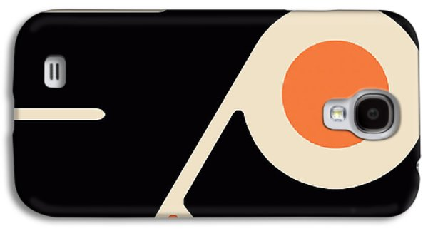 Stanley Cup Paintings Galaxy S4 Cases - Philadelphia Flyers Galaxy S4 Case by Tony Rubino