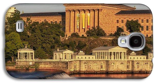 Susan Candelario Galaxy S4 Cases - Philadelphia Museum of Art Galaxy S4 Case by Susan Candelario