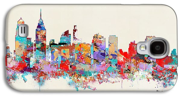 Philadelphia Skyline Galaxy S4 Case by Bri B