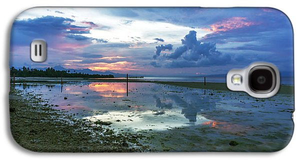 Beach Landscape Galaxy S4 Cases - Philippine Sunset 2 Galaxy S4 Case by Lik Batonboot