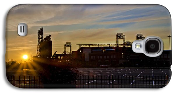 Citizens Bank Park Galaxy S4 Cases - Phillies Citizens Bank Park at Dawn Galaxy S4 Case by Bill Cannon