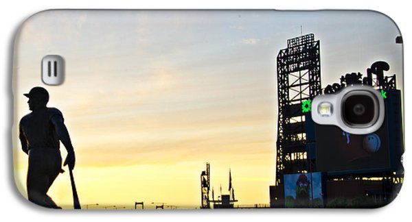 Phillies Stadium At Dawn Galaxy S4 Case by Bill Cannon