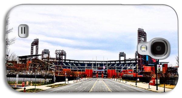 Citizens Bank Park Galaxy S4 Cases - Phillies Stadium - Citizens Bank Park Galaxy S4 Case by Bill Cannon