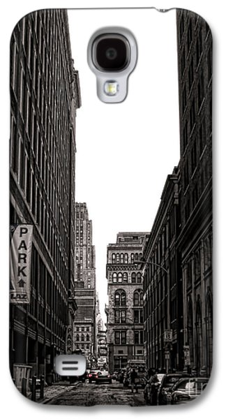 Phila Galaxy S4 Cases - Philly Street Galaxy S4 Case by Olivier Le Queinec