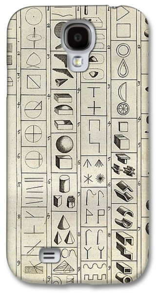 Philosophical Symbology Galaxy S4 Case by Middle Temple Library