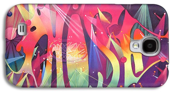 Celebrities Galaxy S4 Cases - Phish the Mother Ship Galaxy S4 Case by Joshua Morton