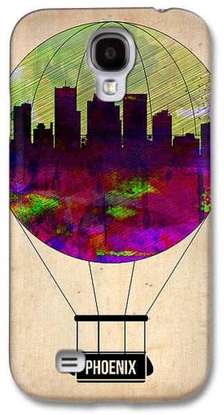Extinct And Mythical Digital Art Galaxy S4 Cases - Phoenix Air Balloon  Galaxy S4 Case by Naxart Studio