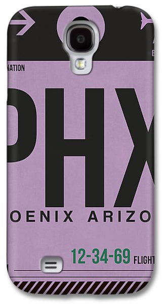 Phoenix Airport Poster 1 Galaxy S4 Case by Naxart Studio