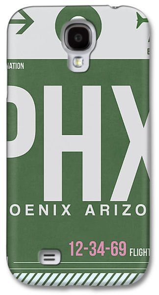 Phoenix Airport Poster 2 Galaxy S4 Case by Naxart Studio