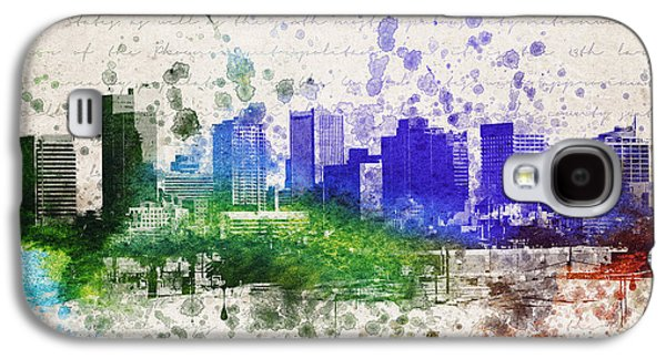 City Scape Galaxy S4 Cases - Phoenix in Color Galaxy S4 Case by Aged Pixel