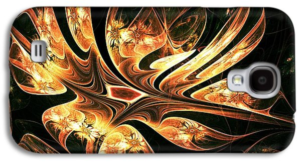 Abstracts Galaxy S4 Cases - Phoenix Nest Galaxy S4 Case by Anastasiya Malakhova