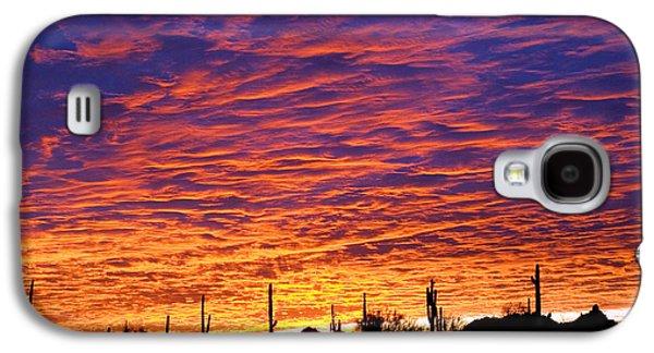 Phoenix Sunrise Galaxy S4 Case by Jill Reger