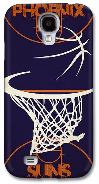 Sun Galaxy S4 Cases - Phoenix Suns Court Galaxy S4 Case by Joe Hamilton