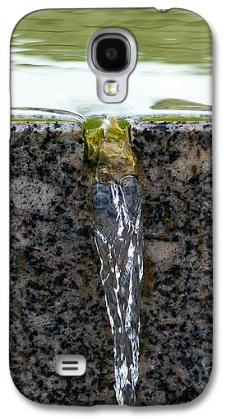 Abstract Fountain Galaxy S4 Cases - Phone Case - Cold And Clear Water Galaxy S4 Case by Alexander Senin