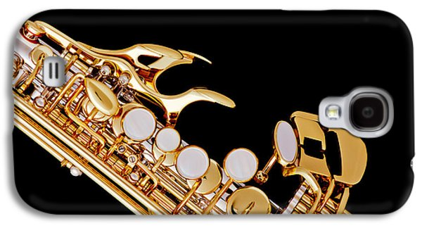 Photograph Of A Soprano Saxophone In Color 3342.02 Galaxy S4 Case by M K  Miller