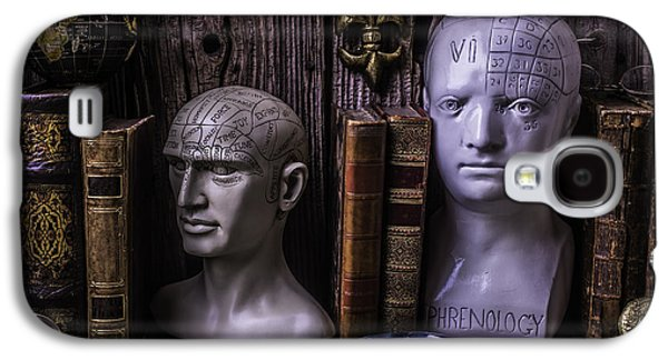 Psychiatry Galaxy S4 Cases - Phrenology Still Life Galaxy S4 Case by Garry Gay