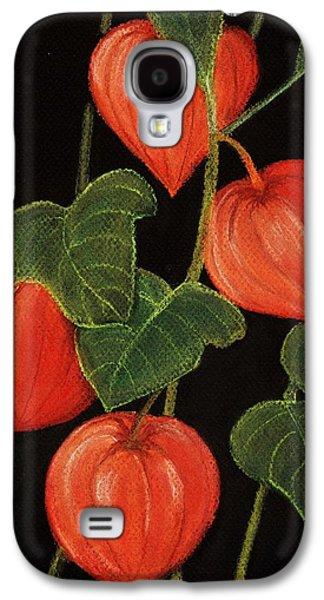 Garden Galaxy S4 Cases - Physalis Galaxy S4 Case by Anastasiya Malakhova