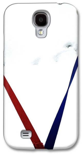 Dog Walking Galaxy S4 Cases - Pia and Pelle Galaxy S4 Case by Natasha Marco