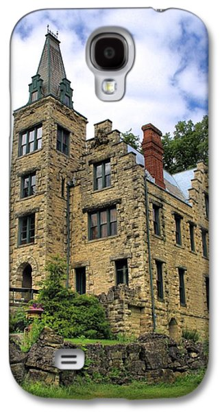 Old House Photographs Galaxy S4 Cases - Piatt Castle Galaxy S4 Case by Dan Sproul