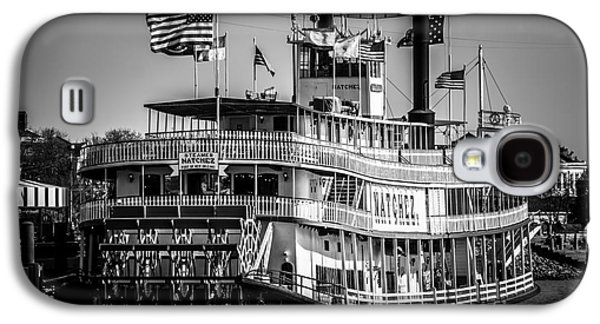 Louisiana Photographs Galaxy S4 Cases - Picture of Natchez Steamboat in New Orleans Galaxy S4 Case by Paul Velgos