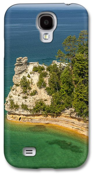 Shore Galaxy S4 Cases - Pictured Rocks National Lakeshore Galaxy S4 Case by Sebastian Musial