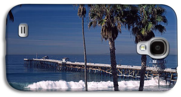 Pier Over An Ocean, San Clemente Pier Galaxy S4 Case by Panoramic Images