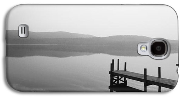 Contemplative Photographs Galaxy S4 Cases - Pier, Pleasant Lake, New Hampshire, Usa Galaxy S4 Case by Panoramic Images