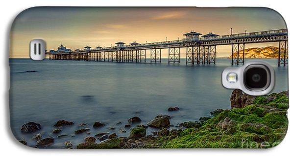 Pier Digital Galaxy S4 Cases - Pier Seascape Galaxy S4 Case by Adrian Evans