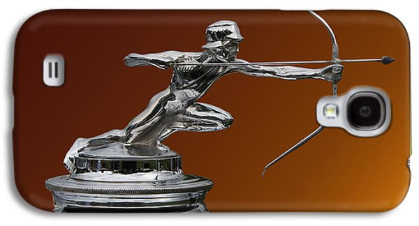 Replacing Galaxy S4 Cases - Pierce Arrow Hunter Mascot Galaxy S4 Case by Jack Pumphrey