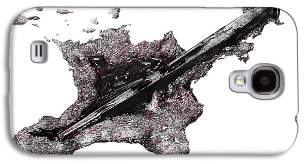 Blood Drawings Galaxy S4 Cases - Pierced  Galaxy S4 Case by Aaron Spong