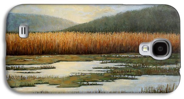 Landscapes Tapestries - Textiles Galaxy S4 Cases - Piermonts Marshes Galaxy S4 Case by Sue Barrasi