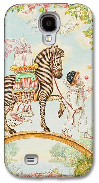 Birthday Galaxy S4 Cases - Pierrot Galaxy S4 Case by Lynn Bywaters