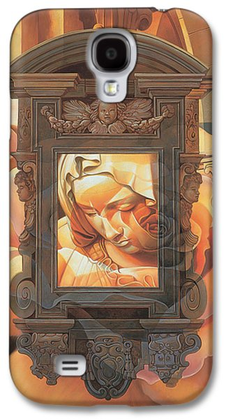 Religious Galaxy S4 Cases - Pieta Galaxy S4 Case by Mia Tavonatti