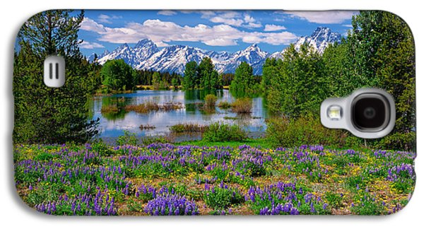 Photographic Art Galaxy S4 Cases - Pilgrim Creek Wildflowers Galaxy S4 Case by Greg Norrell