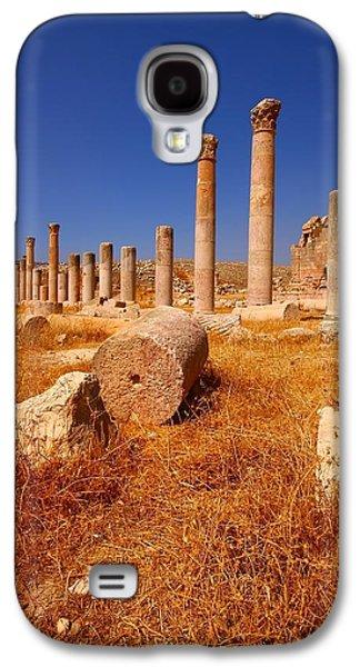 Jordan Photographs Galaxy S4 Cases - Pillars Of Ruin Galaxy S4 Case by FireFlux Studios