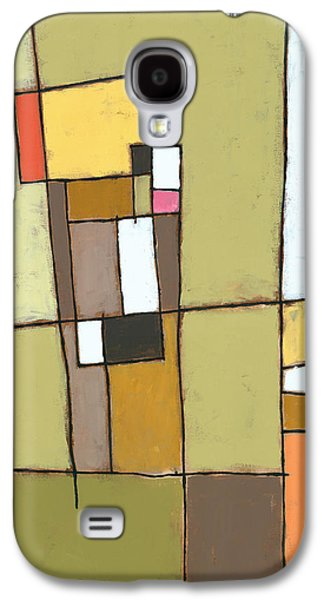 Abstractions Galaxy S4 Cases - Pimento Galaxy S4 Case by Douglas Simonson