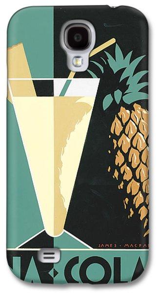 Alcohol Photographs Galaxy S4 Cases - Pina Colada Galaxy S4 Case by Brian James