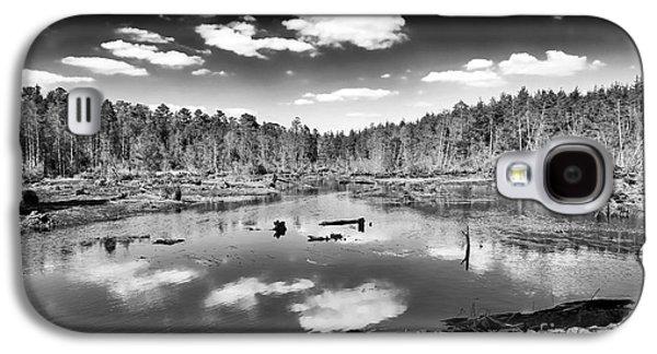 Pine Barrens Galaxy S4 Cases - Pine Barrens Lake Galaxy S4 Case by John Rizzuto