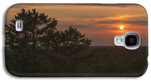 Pine Barrens Galaxy S4 Cases - Pine Barrens Sunset NJ Galaxy S4 Case by Terry DeLuco