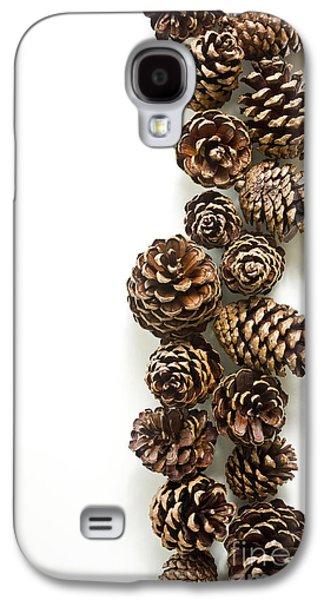 Pine Cones Photographs Galaxy S4 Cases - Pine Cones Galaxy S4 Case by Edward Fielding