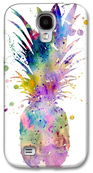 Recently Sold -  - Botanical Galaxy S4 Cases - Pineapple Galaxy S4 Case by Luke and Slavi