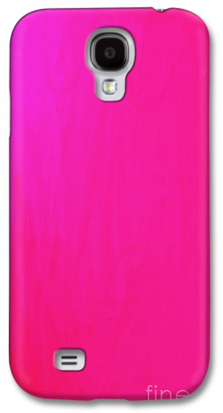 Abstract Digital Paintings Galaxy S4 Cases - Pink Galaxy S4 Case by Anita Lewis