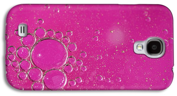 Bubbles Galaxy S4 Cases - Pink Bubbles Galaxy S4 Case by Samuel Whitton