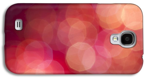 Glitters Galaxy S4 Cases - Pink Champagne Galaxy S4 Case by Jan Bickerton