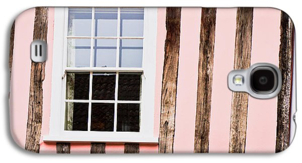 Ancient Galaxy S4 Cases - Pink cottage wall Galaxy S4 Case by Tom Gowanlock