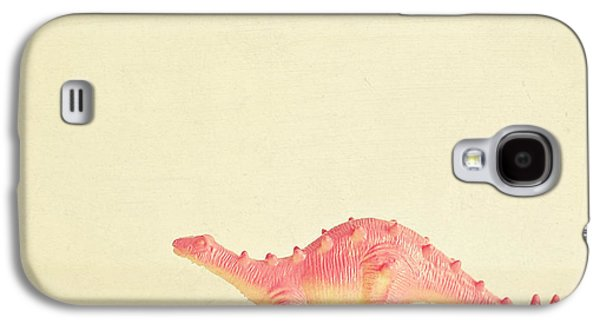 Pink Dinosaur Galaxy S4 Case by Cassia Beck