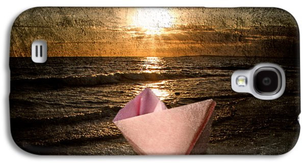 Toy Boat Galaxy S4 Cases - Pink Dreams Galaxy S4 Case by Stylianos Kleanthous