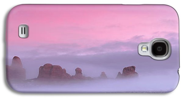 Southern Utah Galaxy S4 Cases - Pink Galaxy S4 Case by Dustin  LeFevre