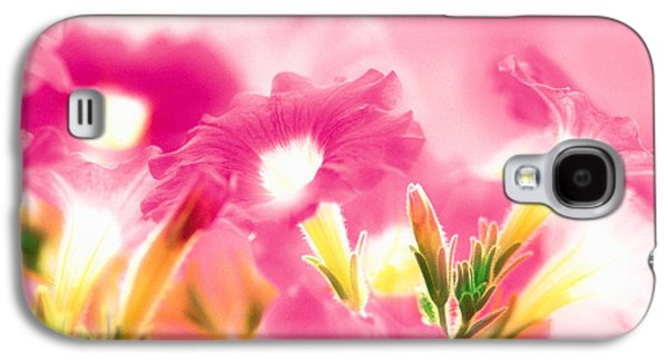 Designs In Nature Galaxy S4 Cases - Pink Flowers Galaxy S4 Case by Panoramic Images
